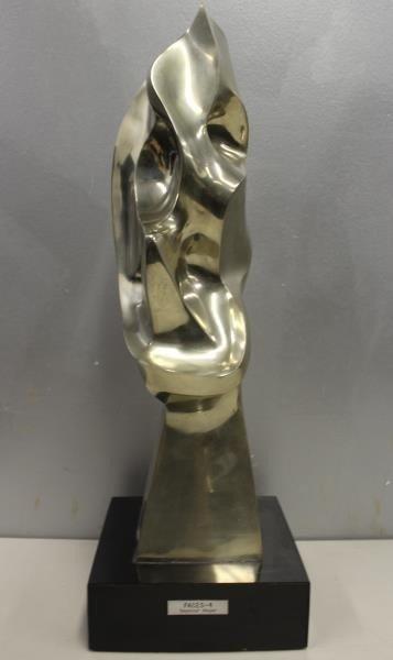 MEYER, Seymour. Signed Polished Bronze Sculpture