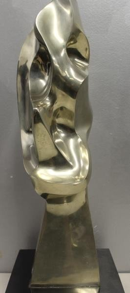 MEYER, Seymour. Signed Polished Bronze Sculpture - 2