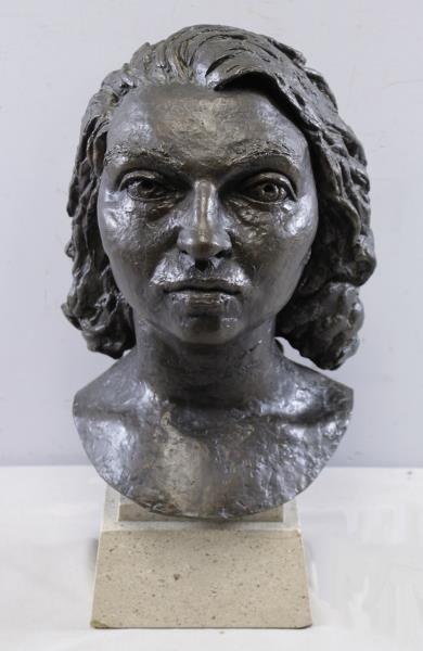 "EPSTEIN, Jacob. Bronze ""Germaine Bras"". - 2"