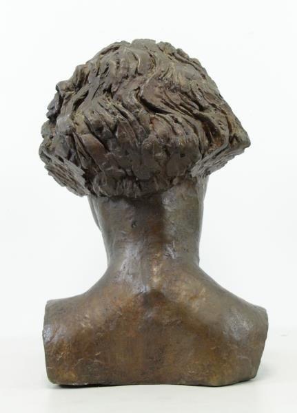 EPSTEIN, Jacob. Bronze Bust. Portrait of Oriel - 4