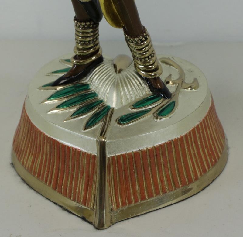 """ERTE. Patinated Bronze """"Arabian Nights"""" 1990. - 4"""