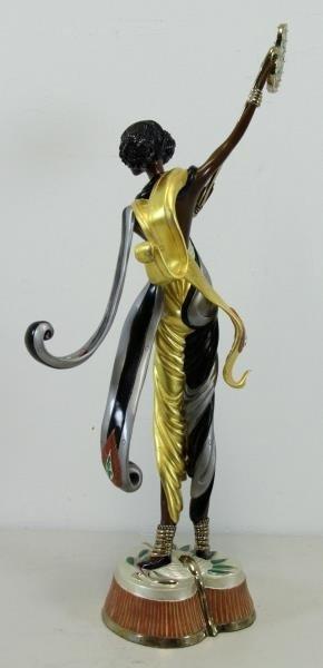 """ERTE. Patinated Bronze """"Arabian Nights"""" 1990. - 5"""