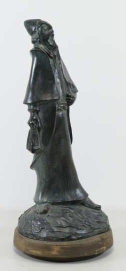 BEN HAIM, Gabriel. Signed & Dated Patinated Bronze - 2