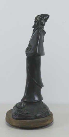 BEN HAIM, Gabriel. Signed & Dated Patinated Bronze - 3