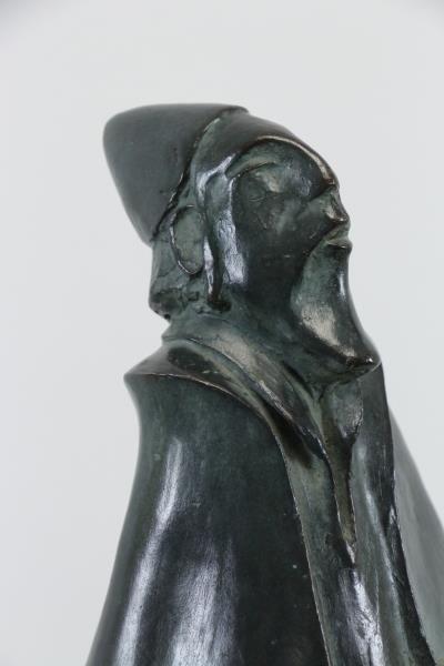 BEN HAIM, Gabriel. Signed & Dated Patinated Bronze - 4