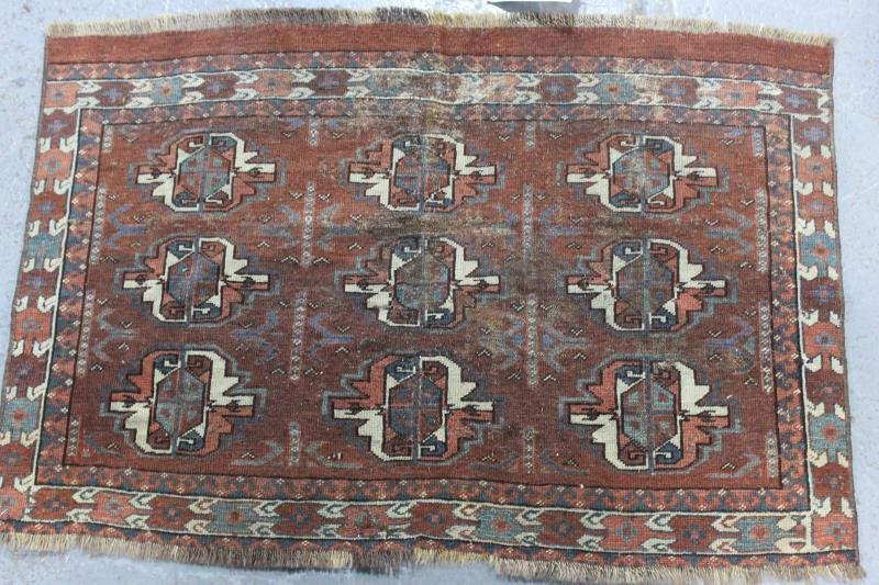 Lot of 5 Assorted Antique Prayer Rugs. - 2