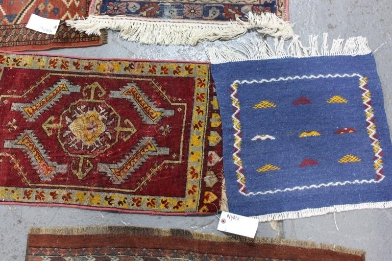 Lot of 5 Assorted Antique Prayer Rugs. - 3