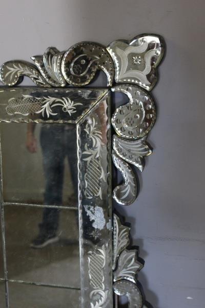 Large Venetian Style Mirror . - 4