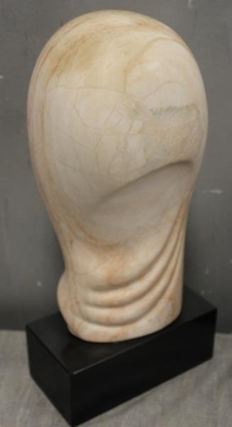 Kazer Julie M. Signed Lot of 3 Marble Sculptures. - 4