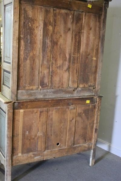 Antique Finely Painted French Provincial Cabinet. - 6