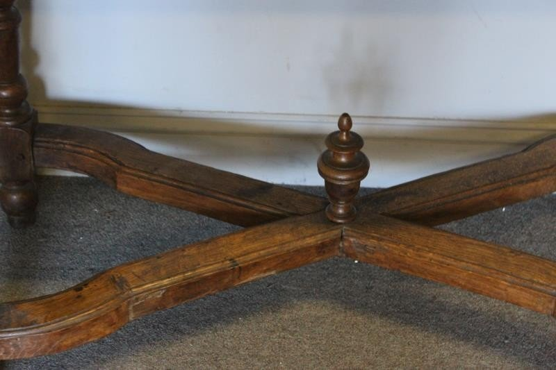 Antique Continental Marbletop Table. - 2