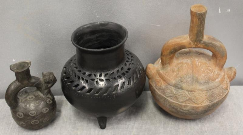 Lot of Assorted Antique Pottery Items To Inc , - 4