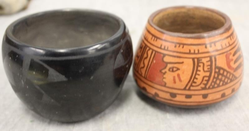 Lot of Assorted Antique Pottery Items To Inc , - 6