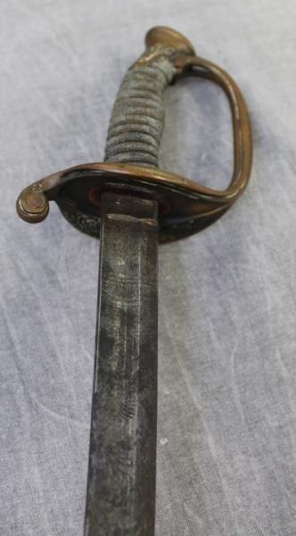 U.S. Military Foot Officers Sword Circa 1850 - 5