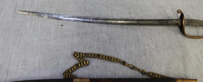 U.S. Military Foot Officers Sword Circa 1850 - 8