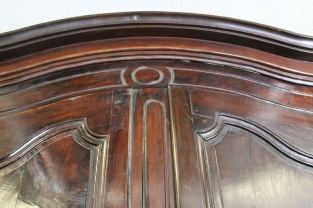 18 Century French Provincial 2 Door Armoire - 3