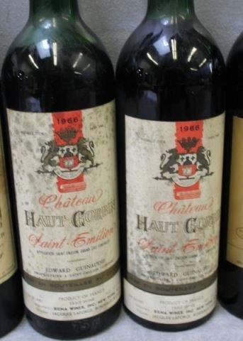 1966-1975 Bouscaut,Beychevelle,Corbin,Brown Wine. - 5