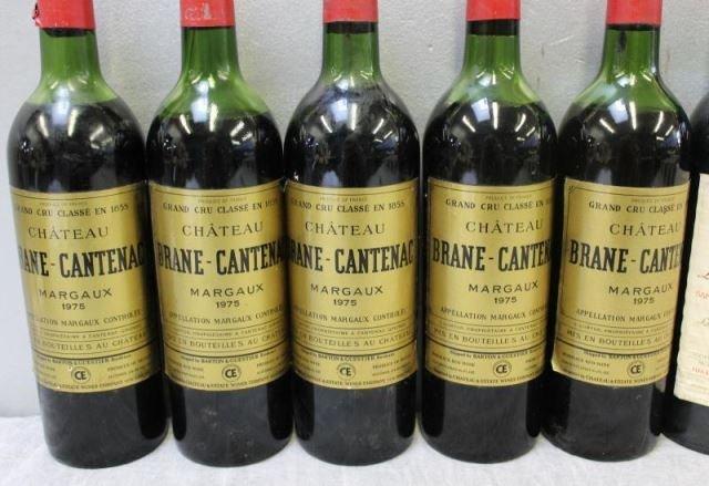 Chateau Brane,La Tour Carnet&Figeac 1975 1978 Wine - 2