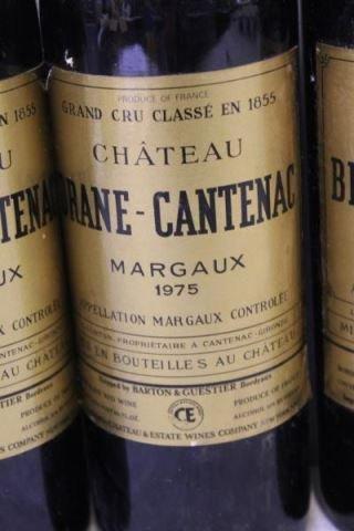 Chateau Brane,La Tour Carnet&Figeac 1975 1978 Wine - 3