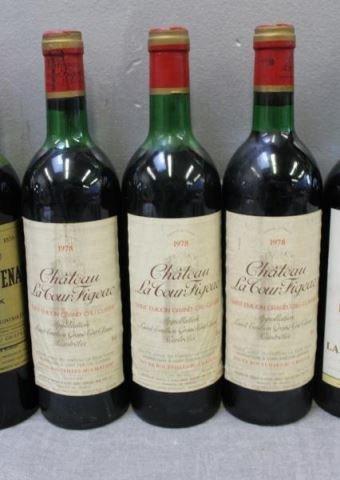 Chateau Brane,La Tour Carnet&Figeac 1975 1978 Wine - 4