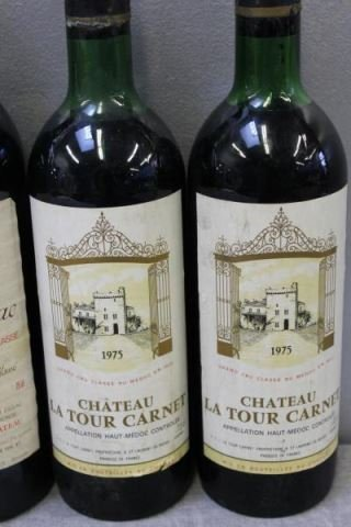 Chateau Brane,La Tour Carnet&Figeac 1975 1978 Wine - 6