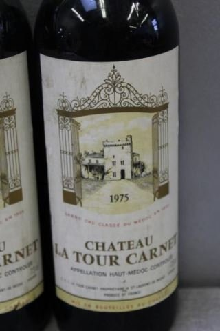 Chateau Brane,La Tour Carnet&Figeac 1975 1978 Wine - 7