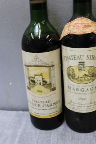 Mixed 5 Bottle Lot of French Wine 1966 & 1970. - 2