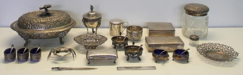STERLING. Assorted Lot of Sterling and Silver