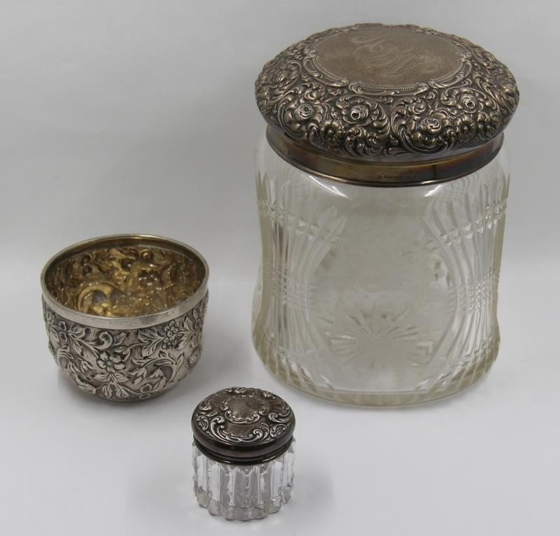 STERLING. Assorted Lot of Sterling and Silver - 2