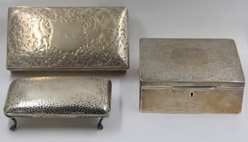 STERLING. Assorted Lot of Sterling and Silver - 3
