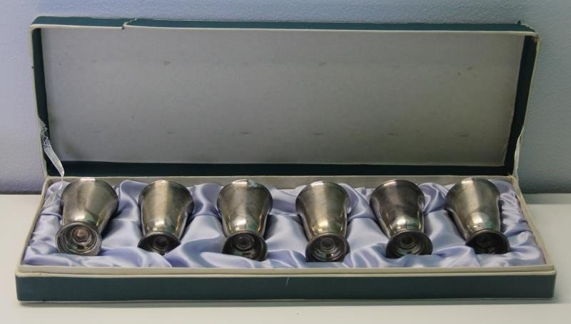 STERLING. Large Grouping of Assorted Cups and - 4