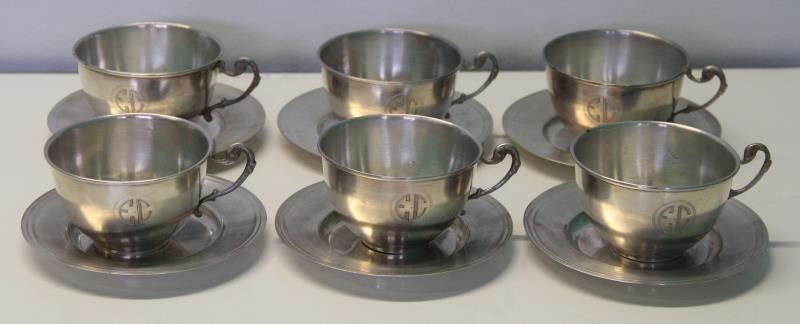 STERLING. Large Grouping of Assorted Cups and - 9