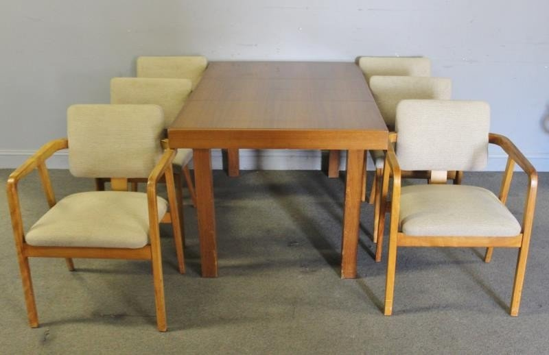 Early George Nelson; Herman Miller Dining Set.