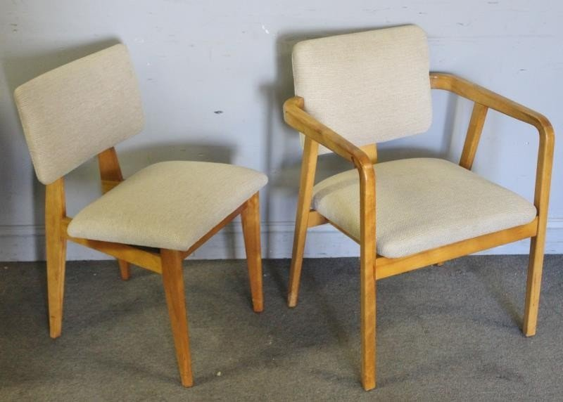 Early George Nelson; Herman Miller Dining Set. - 3