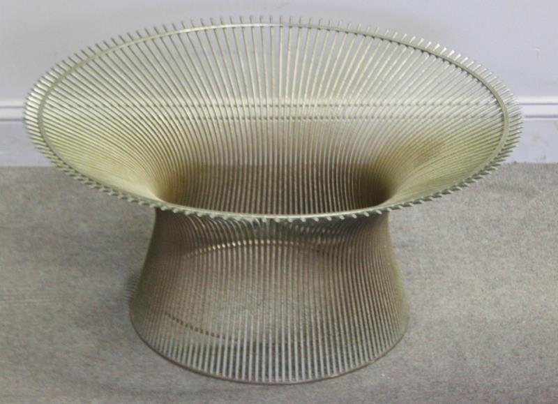 Midcentury Warren Platner; Knoll Coffee Table.
