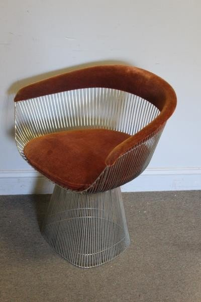 Midcentury Warren Platner; Knoll Arm Chair.