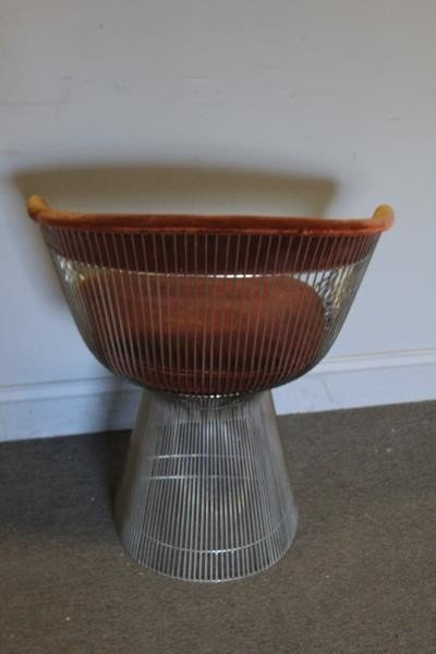 Midcentury Warren Platner; Knoll Arm Chair. - 3