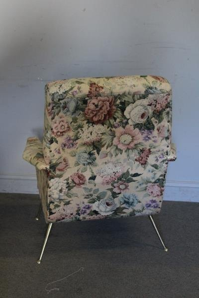 Pair of 1960s Upholstered Italian Lounge Chairs. - 2