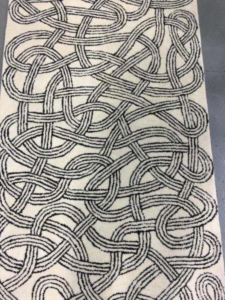 Modern Christopher Farr / Anni Albers Runner Carpet. - 2