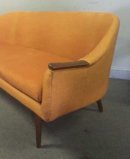 Midcentury Danish ? Sofa and Lounge Chair Set. - 2