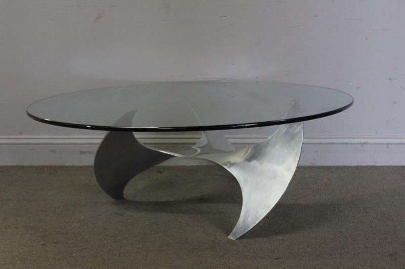 Midcentury Knut Hesterberg Propeller Coffee Table. - 2