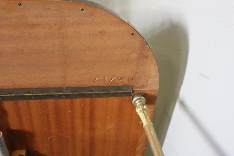 Midcentury Aldo Tura Goatskin Lacquered Bar Cart. - 3