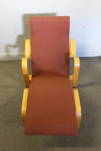 Midcentury Marcel Breuer Chaise Lounge Chair. - 2
