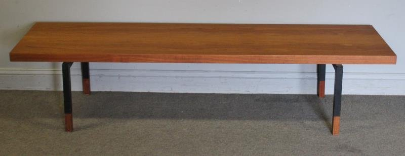 Midcentury Rosewood Johannes Asbjerg Coffee Table.