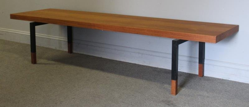 Midcentury Rosewood Johannes Asbjerg Coffee Table. - 2