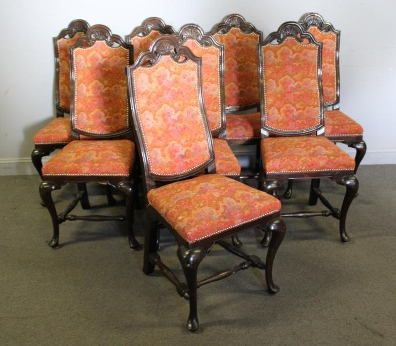 Set of 8 Dining Chairs.