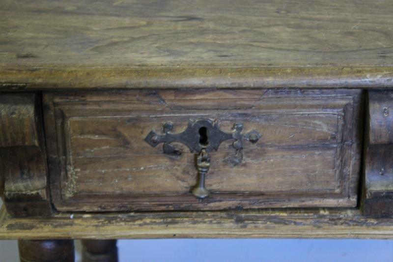 Antique 19th Century Spanish Writing Table. - 2