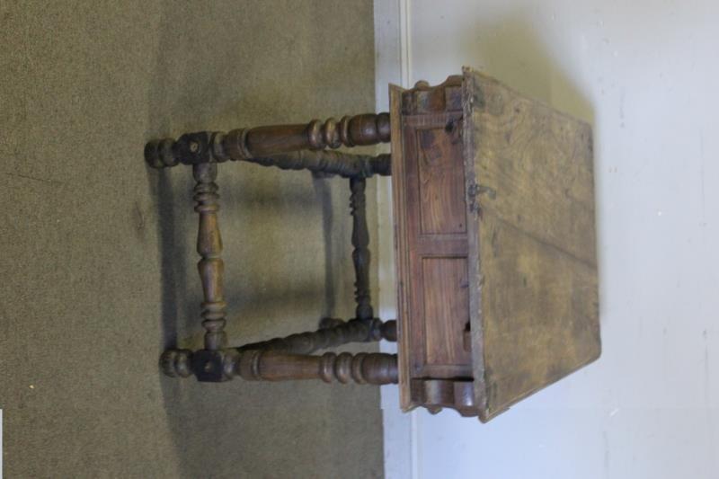 Antique 19th Century Spanish Writing Table. - 6