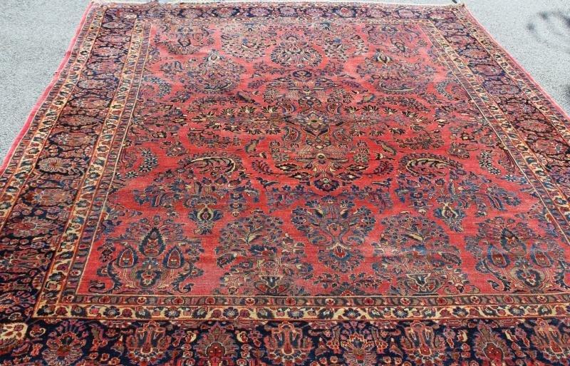Finely Woven Roomsize Sarouk Carpet - 2