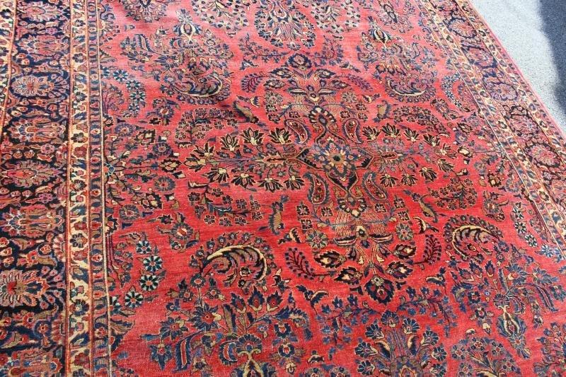 Finely Woven Roomsize Sarouk Carpet - 4